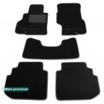 Двухслойные коврики Infiniti M (Y50) 2006-2010 - Premium 10mm Black Sotra