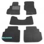 Двухслойные коврики Infiniti M (Y50) 2006-2010 - Premium 10mm Grey Sotra