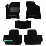 Двухслойные коврики Sotra Classic 7mm Black для ZAZ Forza (хэтчбек) 2011>