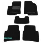 Двухслойные коврики Hyundai Accent / Solaris (седан)(mkIV) 2011> - Classic 7mm Black Sotra
