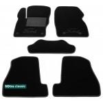 Двухслойные коврики Ford Focus US (mkIII) 2010-2014 - Classic 7mm Black Sotra
