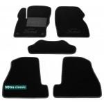 Двухслойные коврики Ford Focus (mkIII) 2010-2014 - Classic 7mm Black Sotra