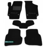 Двухслойные коврики Sotra Classic 7mm Black для Volkswagen Polo (седан)(mkV) 2009→