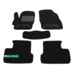 Двухслойные коврики Mazda 3 (BL)(mkII) 2008-2013 - Classic 7mm Black Sotra