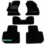 Двошарові килимки Subaru XV 2011> - Classic 7mm Black Sotra