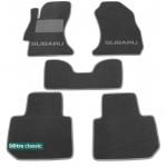 Двошарові килимки Subaru XV 2011> - Classic 7mm Grey Sotra