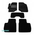 Двухслойные коврики Citroen C-Elysee (mkII) 2013> - Classic 7mm Black Sotra