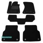 Двухслойные коврики Sotra Premium 10mm Black для Audi A8 (D4) 2010→