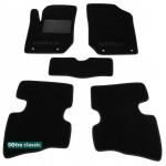 Двухслойные коврики Geely GX2 - Classic 7mm Black Sotra
