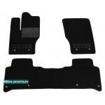 Двухслойные коврики Land Rover Range Rover Sport (mkII) 2013> - Premium 10mm Black Sotra