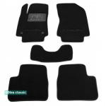 Двухслойные коврики Sotra Classic 7mm Black для Citroen C3 (mkIII) 2017>