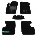 Двухслойные коврики Sotra Classic 7mm Black для Fiat 500X (mkI) 2014>