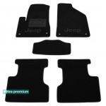 Двухслойные коврики Jeep Cherokee (KL) 2013> - Premium 10mm Black Sotra