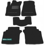 Двухслойные коврики Chrysler Stratus (mkI) 1996-2000 - Classic 7mm Black Sotra