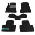 Двухслойные коврики Lexus IS EU (XE20)(mkII) 2005-2013 - Classic 7mm Black Sotra
