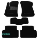 Двухслойные коврики Daewoo Lanos 1997→ - Classic 7mm Black Sotra