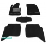 Двухслойные коврики Daihatsu Terios (mkII) 2006→ - Classic 7mm Black Sotra