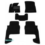 Двухслойные коврики Hyundai Santa Fe (1-2 ряд)(CM)(mkII) 2010-2012 - Classic 7mm Black Sotra