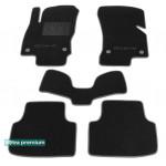 Двухслойные коврики Sotra Premium 10mm Black для Skoda Octavia (5E)(mkIII) 2013>