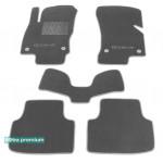 Двухслойные коврики Sotra Premium 10mm Grey для Skoda Octavia (5E)(mkIII) 2013>