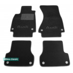Двухслойные коврики Audi A6 (C7) 2011→ - Classic 7mm Black Sotra