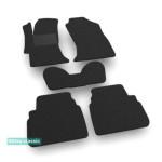 Двошарові килимки Subaru XV (mkII) 2017 → - Classic 7mm Black Sotra