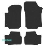 Двухслойные коврики Seat Mii (mkI) 2012→ - Classic 7mm Black Sotra
