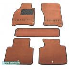Двухслойные коврики для Infiniti M / Q70 (mkIII) 2009→ 10mm Terracot Sotra Premium