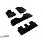 Ковры KIA-Sorento (7 seats)(2013) PP Black - 3D
