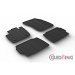 Коврики модельные Ford Mondeo 2015-> резиновые GledRing