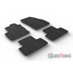 Резиновые коврики Gledring для Land Rover Range Rover Evoque 2011>