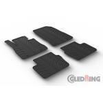 Резиновые коврики Gledring для Mazda 2 (mkIV) 2014>