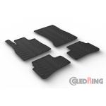 Резиновые коврики Gledring для Mercedes-Benz S-Class (W222) 2013> automatic