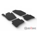 Резиновые коврики Gledring для Skoda Fabia (mkIII) 2014>