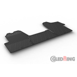 Резиновые коврики Gledring для Opel Movano B / Renault Master (mkIII) 2015>