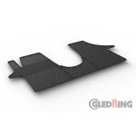 Резиновые коврики Gledring для Volkswagen  Transporter (T5-T6)(1 row) 2004>
