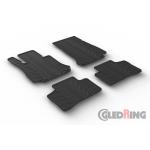 Коврики модельные Mercedes GLC X253 с 2015-> резиновые GledRing