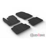 Резиновые коврики Gledring для Ford Kuga (mkII) 2016>