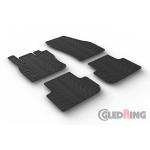 Резиновые коврики Gledring для Volkswagen Tiguan (mkII) 2016>