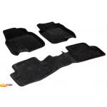 Трехслойные коврики Sotra 3D Classic 8mm Grey для Nissan Qashqai (mkI) 2007-2013