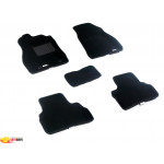 Трехслойные коврики Sotra 3D Classic 8mm Black для Nissan Juke 2010->