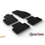 Резиновые коврики Gledring для Volvo V50 (mkI)2004-2011 manual