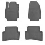 Коврики в салон Renault Captur 13-/ Clio III 05-/ Clio IV 12- (4 шт) резиновые Stingray