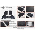 Коврики в салон Ssang Yong Rexton W 2013- резиновые - Stingray