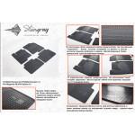 Коврики в салон Kia Optima 2012- резиновые - Stingray