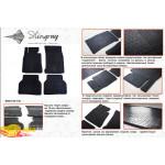 Резиновые коврики BMW 5 E39 1995-2003 резиновые - Stingray