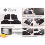 Резиновые коврики Citroen Berlingo 1999- резиновые - Stingray