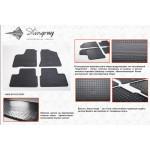 Коврики в салон ВАЗ (Lada) 2110, 2111, 2112 резиновые - Stingray