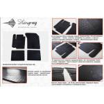 Коврики в салон Suzuki SX4 2013- резиновые - Stingray