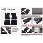 Коврики в салон Subaru Forester 2008- резиновые - Stingray